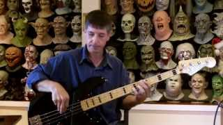Stone In Love Bass Cover width=