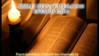 BIBLIA REINA VALERA 1960 EFESIOS CAP 6