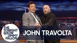 John Travolta Teaches Jimmy to Tango Like Pitbull's