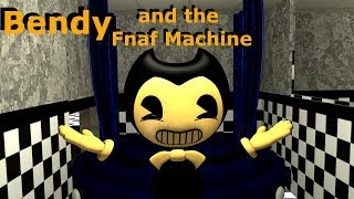[FNAF / BATIM SFM] Bendy and the Fnaf Machine