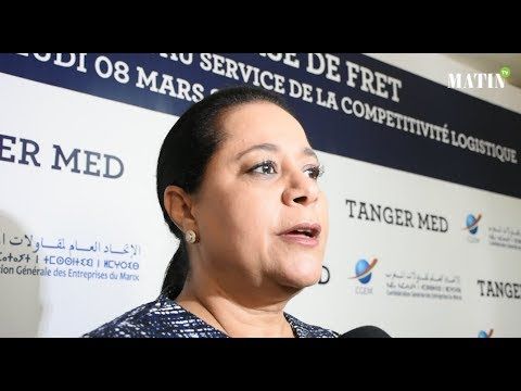 Video : Tanger Med et la CGEM lancent la bourse du fret
