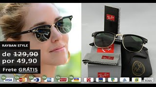 Óculos de Sol de Qualidade e Barato é na Ronza Store