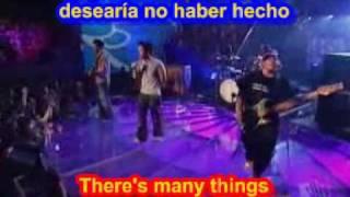 Hoobastank  - The Reason ( SUBTITULADO INGLES ESPAÑOL )