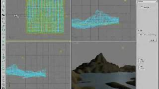 3DSMAX CREATION LANDSCAPE part2