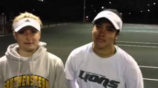 Valya Rusakova and Adriana Castillo (3/3/13)