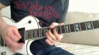 Polskie Solówki: 7. O.N.A. - Znalazłam (guitar solo + backing + tab | ESP LTD EC-1000 TonePort)