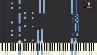 Tchaikovsky Nutcracker - Arabian Dance on Piano Tutorial