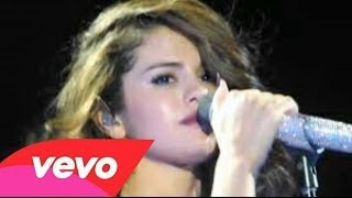 "Selena Gomez llorando cantando ""Love Will Remember"""