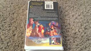 Lady & The Tramp VHS
