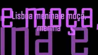 TT ft. Vanessa - Lisboa, menina e moça with lyrics