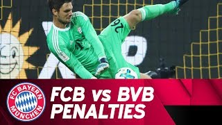 FC Bayern vs. Borussia Dortmund Penalty Shootout | #SvenTheWall is born!