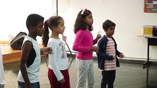 Estou alegre - 3 Palavrinhas - Coreografia infantil - Crianças elisama
