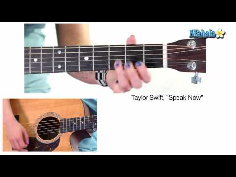 How To Play Speak Now By Taylor Swift On Guitar Chords Chordify
