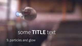 Title Intro with Breakdown in Blender & After Effects