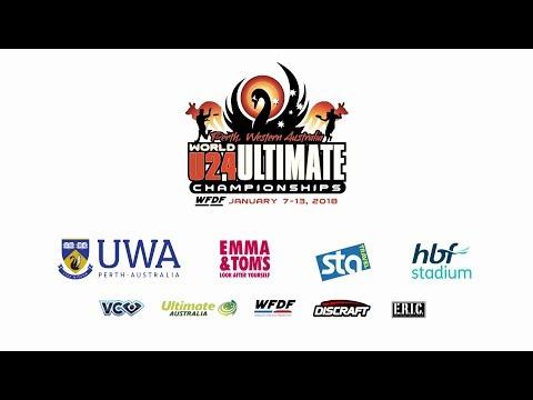 Video Thumbnail: 2018 WFDF World U-24 Championships, Men's Gold Medal Game: USA vs. Italy