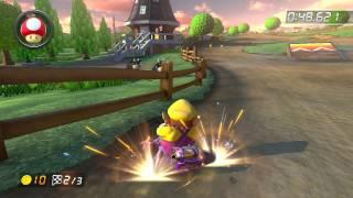 Wii Moo Moo Meadows - 1:22.919 - HDiogo (Mario Kart 8 World Record)