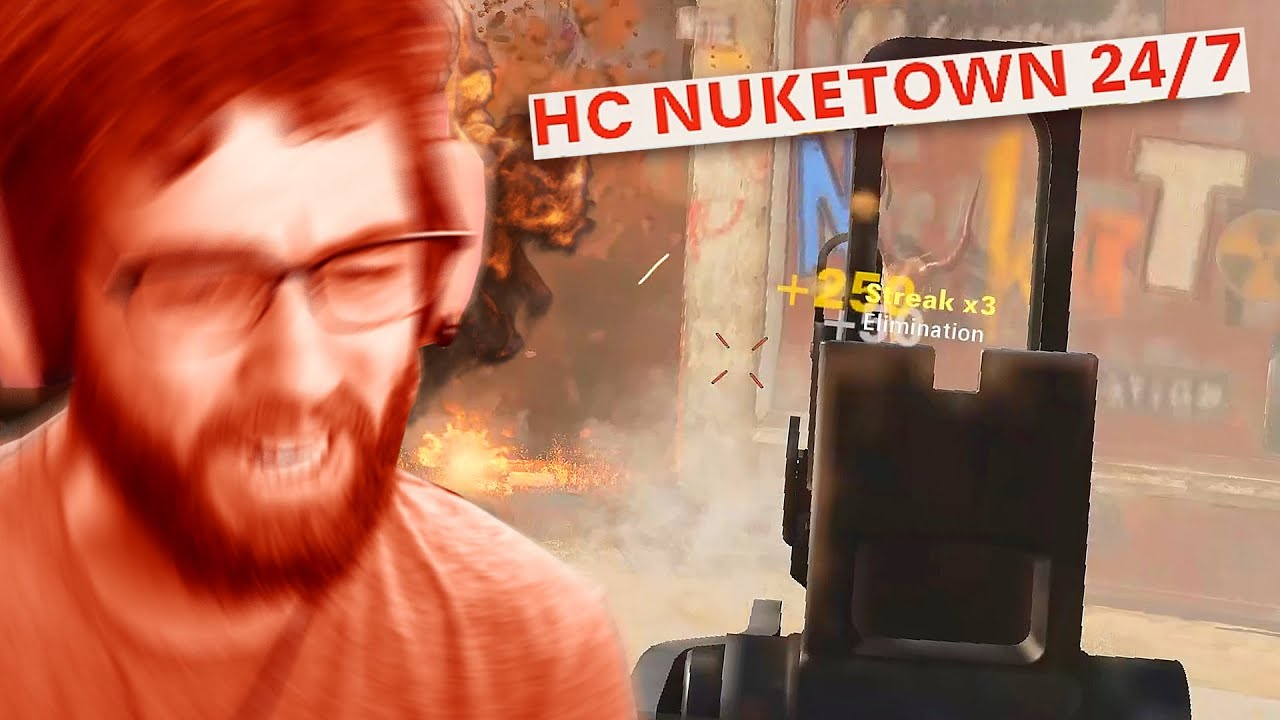 Jev - They added HARDCORE NUKETOWN and I could only handle it for less than 5 minutes
