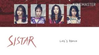 Sistar (씨스타) - I like that [Karaoke ver.] Color Coded Lyrics [Instrumental/Kpop]
