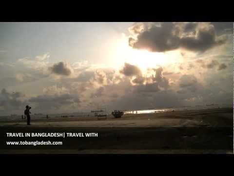 Bangladesh Cloud, Bridge, Sea, Beach and  a Lonely Horse  Chittagong