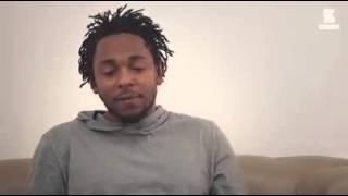 kendrick lamar talks the importance of love