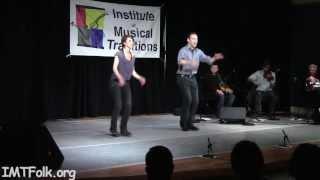 """""""Appalachian Clogging"""", Matthew Olwell & Emily Oleson"""