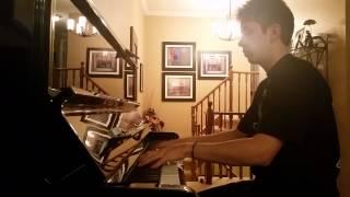 Etude in c-, Original piano song