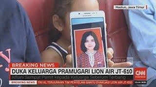 Duka Keluarga Alfiani, Pramugari Lion Air JT-610