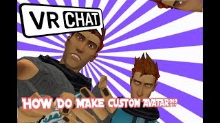 How to get custom avatars in vrchat easiest way videos