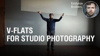 V-Flat for studio photography.