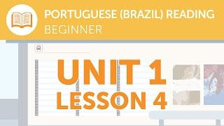 Portuguese Reading for Beginners - Is This Bus Service Running Today?