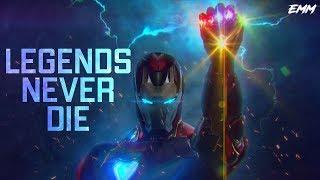 "Iron Man & Captain America - ""Legends Never Die"""