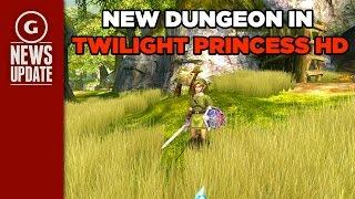 Twilight Princess HD Has New Dungeon Unlocked Using Amiibo - GS News Update