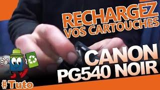 Cartouche Canon PG-540 Noire : Comment Recharger La Cartouche