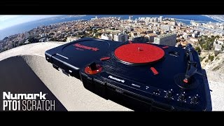 Numark PT01 Scratch (Portable turntable) Review with Dj Samy - Portablism culture