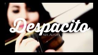 DESPACITO - Luis Fonsi, Daddy Yankee, Justin Bieber | Violin Harp Cover by Nia Aladin
