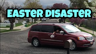 Kid Temper Tantrum Throws Daddy's Easter Basket Out Car Window - Uncle Jay - Final Days PT3
