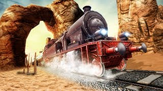 Real Euro Train Simulator - Android Gameplay HD