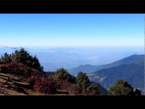 Martin in Nepal 2012 – Panoramablick in Thadepati (3650m)