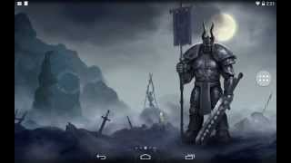 Moon Knight (full version) - dark fantasy android live wallpaper by Anvilgard