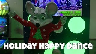"Chuck E.'s ""Holiday Happy Dance"" (#ChuckEWonderland)"