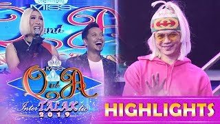 It's Showtime Miss Q and A: President Ganda surprises Vice Ganda