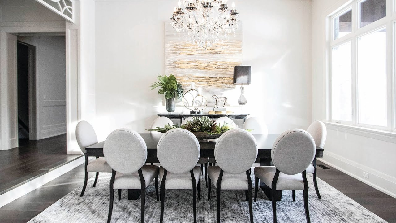 A Gorgeous, Modern Living and Dining room Makeover – Kimmberly Capone Interior Design