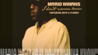 "Mario Winans ""I Don't Wanna Know"" - Chris IDH (MFU Bootleg)"