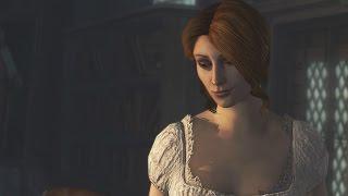 Assassin's Creed Brotherhood - Caterina Sforza And Ezio Romance Scene