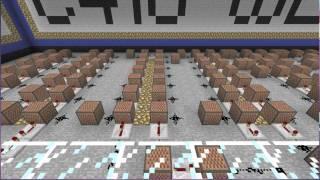 Minecraft Song: C418-Wet Hands on Note Blocks