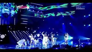 Time to love 2 - T-Ara  Supernova (LIVE)