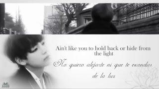 V (BTS) - Someone Like You (Cover) Lyrics [Ing/Esp sub]