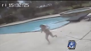 Watch 5-Year-Old Girl Save Mom from Drowning After Having Seizure in Pool