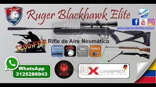 Rifle Diabolos Neumático Ruger Blackhawk Élite Whatsapp 3125286943 AIRGUNS COLOMBIA