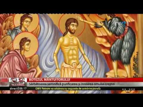Tradiţii şi obiceiuri de sărbătoarea Botezului Domnului (Boboteaza)
